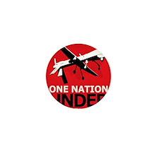 Drone Surveillance Nation Mini Button