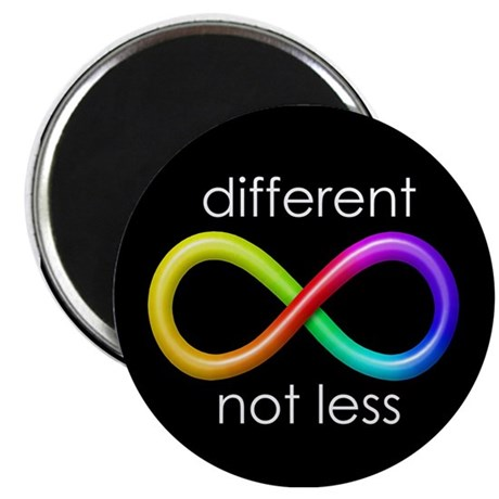 Different, Not Less Magnet
