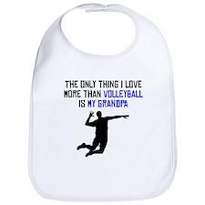 Volleyball Grandpa Bib