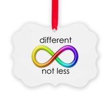 Different, Not Less Ornament