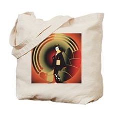 Japanese Woman in an Art Deco World Tote Bag