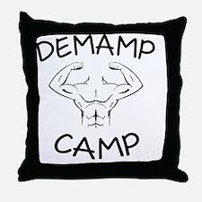 DeMamp Camp Workaholics Throw Pillow