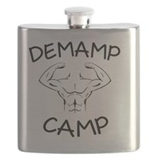 DeMamp Camp Workaholics Flask