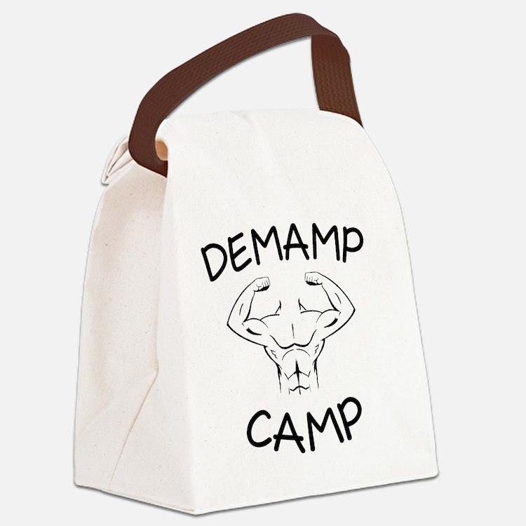 DeMamp Camp Workaholics Canvas Lunch Bag