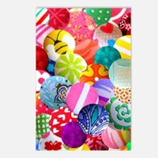 BUTTONS * Postcards (Package of 8)