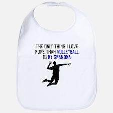 Volleyball Grandma Bib