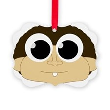 First Tooth Monkey Ornament