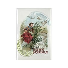 Swan Maiden Rectangle Magnet