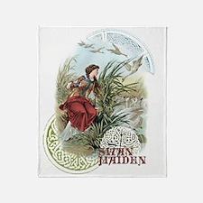 Swan Maiden Throw Blanket