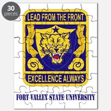 Fort Valley State University with Text Puzzle