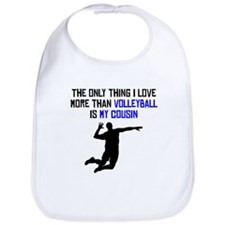 Volleyball Cousin Bib