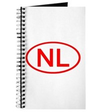 NL Oval (Red) Journal