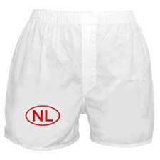NL Oval (Red) Boxer Shorts