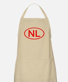 NL Oval (Red) BBQ Apron