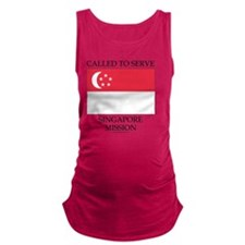 Singapore - LDS Mission - Calle Maternity Tank Top