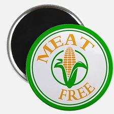 Meat Free Vegetarian Vegan Magnet