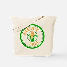 Meat Free Vegetarian Vegan Tote Bag