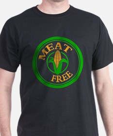 Meat Free Vegetarian Vegan T-Shirt