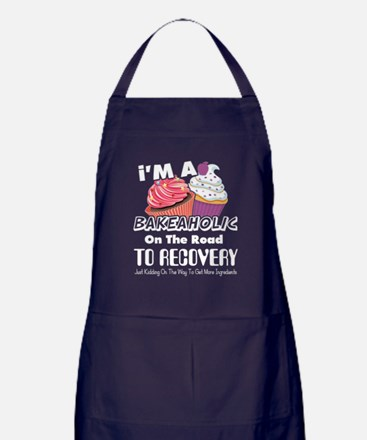 Cute Cupcakes Apron (dark)