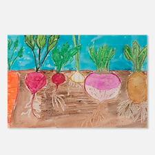 Vegetables Postcards (Package of 8)