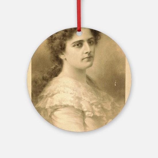 Miss Maxine Elliott - Strobridge - 1889 Round Orna