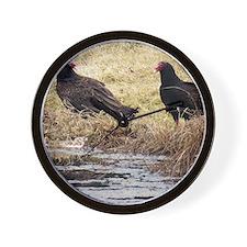 Turkey Vulture Wall Clock