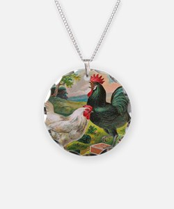 Chickens Necklace
