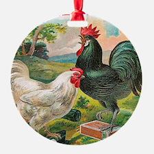 Chickens Ornament