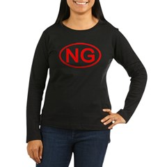 NG Oval (Red) T-Shirt