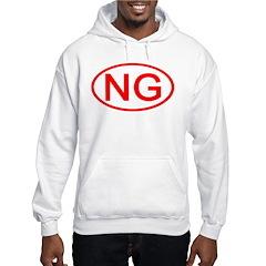 NG Oval (Red) Hoodie