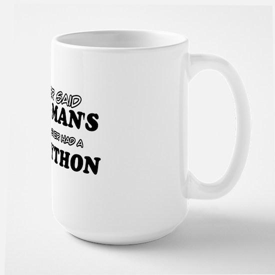 Ball python Pet Designs Large Mug