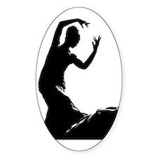 Flamenco dancer - bailaora  Bumper Stickers
