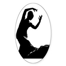 Flamenco dancer - bailaora  Decal