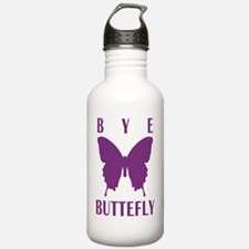 bb_rag_back_bye Water Bottle
