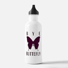 bk_rag_back_bye Water Bottle