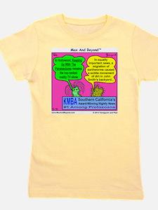 Parameciums Cartoon Girl's Tee