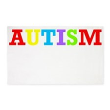 Autism Awareness 3'x5' Area Rug