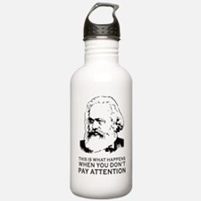 Disappointed Marx  Water Bottle
