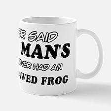 African clawed frog  pet Design Mug