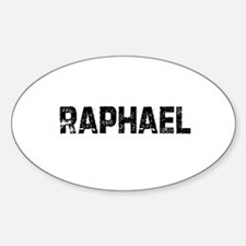 Raphael Oval Decal