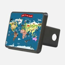 World Map For Kids - Lets  Hitch Cover