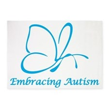 Embracing Autism 5'x7'Area Rug