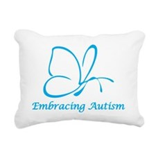 Embracing Autism Rectangular Canvas Pillow