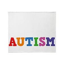autisticProudDad1B Throw Blanket