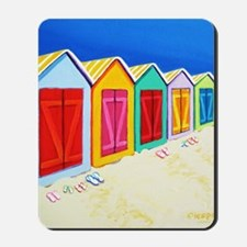 Cabana Row Shower Curtain BU Mousepad