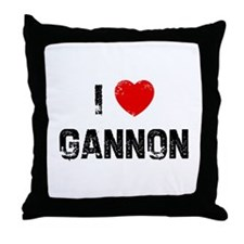 I * Gannon Throw Pillow