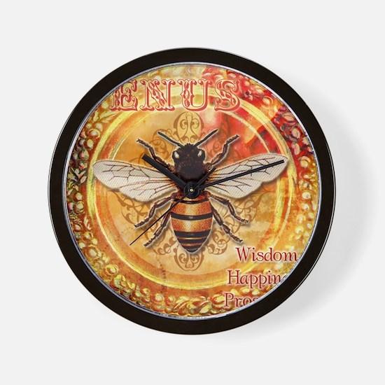 Venus Bee Wall Clock