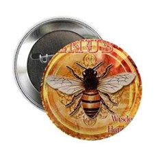 "Venus Bee 2.25"" Button"