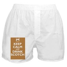 drink-scotch Boxer Shorts
