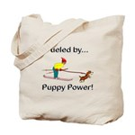 Fueled by Puppy Power Tote Bag